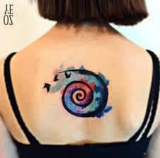 Spiral Tattoo Meaning 11