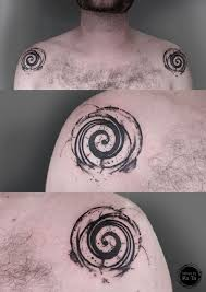 Spiral Tattoo Meaning 14