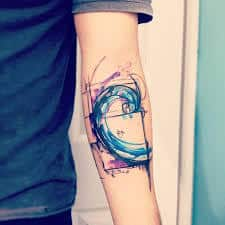 Spiral Tattoo Meaning 16