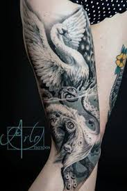 Swan Tattoo Meaning 10