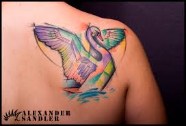 Swan Tattoo Meaning 12