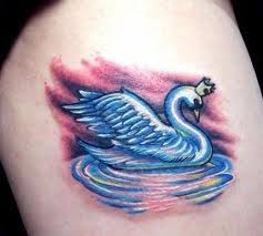 Swan Tattoo Meaning 34