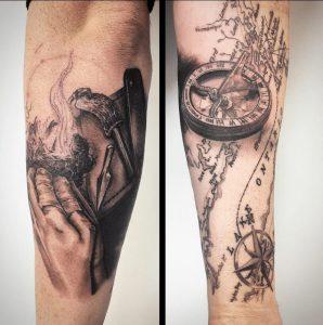Toronto Tattoo Artst Derek Lewis 1