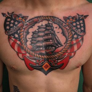 American Traditional Tattoo Artist 54