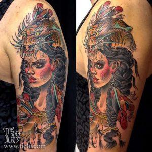 Vancouver Tattoo Artist Lu 1
