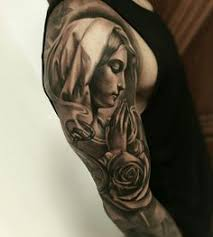 Virgin Mary Tattoo Meaning 11