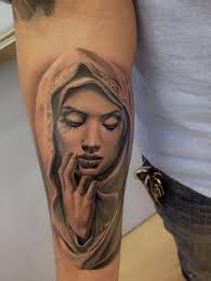 Virgin Mary Tattoo Meaning 17