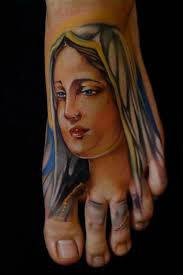 Virgin Mary Tattoo Meaning 18