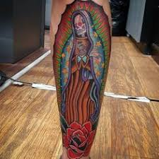 Virgin Mary Tattoo Meaning 22