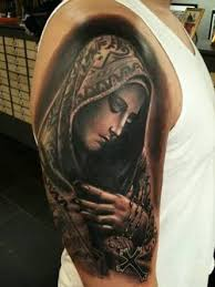 Virgin Mary Tattoo Meaning 24