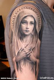 Virgin Mary Tattoo Meaning 26