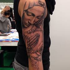 Virgin Mary Tattoo Meaning 3