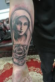 Virgin Mary Tattoo Meaning 30