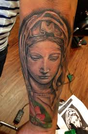 Virgin Mary Tattoo Meaning 34
