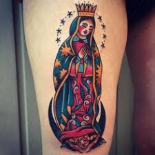 Virgin Mary Tattoo Meaning 36
