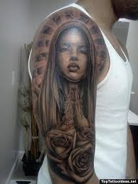Virgin Mary Tattoo Meaning 37