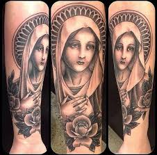 Virgin Mary Tattoo Meaning 39