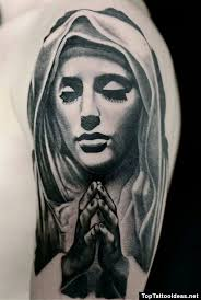 Virgin Mary Tattoo Meaning 4