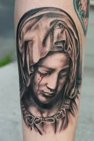 Virgin Mary Tattoo Meaning 45