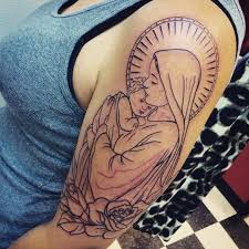 Virgin Mary Tattoo Meaning 46