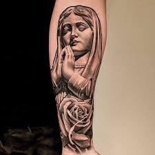 Virgin Mary Tattoo Meaning 47