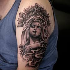 Virgin Mary Tattoo Meaning 5