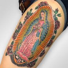 Virgin Mary Tattoo Meaning 6
