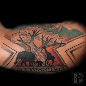 Black and Grey Tattoo Artist 3