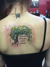 Willow Tree Tattoo Meaning 14