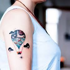 Balloon Tattoo Meaning 13