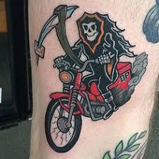 Biker Tattoo Meaning 31
