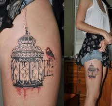 Birdcage Tattoo Meaning 15
