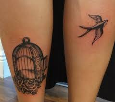 Bird Cage Tattoo Best Image Of Dragon And Bird Vizimageco