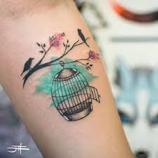 Birdcage Tattoo Meaning 31
