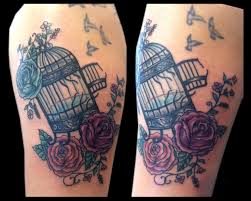 Birdcage Tattoo Meaning 36