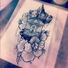Birdcage Tattoo Meaning 46