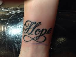 Hope Tattoo Meaning 11