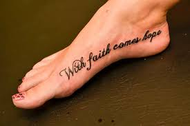 Hope Tattoo Meaning 6