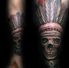 Indian Skull Tattoo Meaning 1