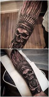 Indian Skull Tattoo Meaning 10