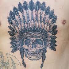 Indian Skull Tattoo Meaning 11