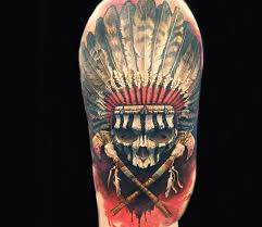 Indian Skull Tattoo Meaning 15
