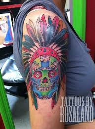 Indian Skull Tattoo Meaning 19