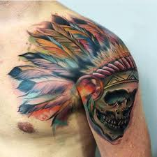 Indian Skull Tattoo Meaning 23