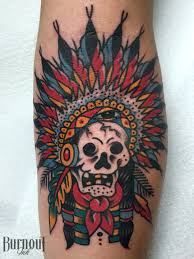 Indian Skull Tattoo Meaning 24
