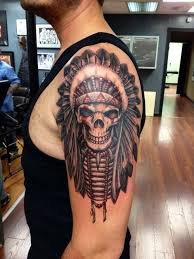 Indian Skull Tattoo Meaning 26