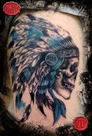 Indian Skull Tattoo Meaning 29