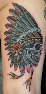 Indian Skull Tattoo Meaning 31