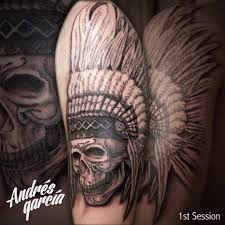 Indian Skull Tattoo Meaning 32