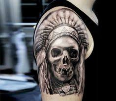 Indian Skull Tattoo Meaning 33